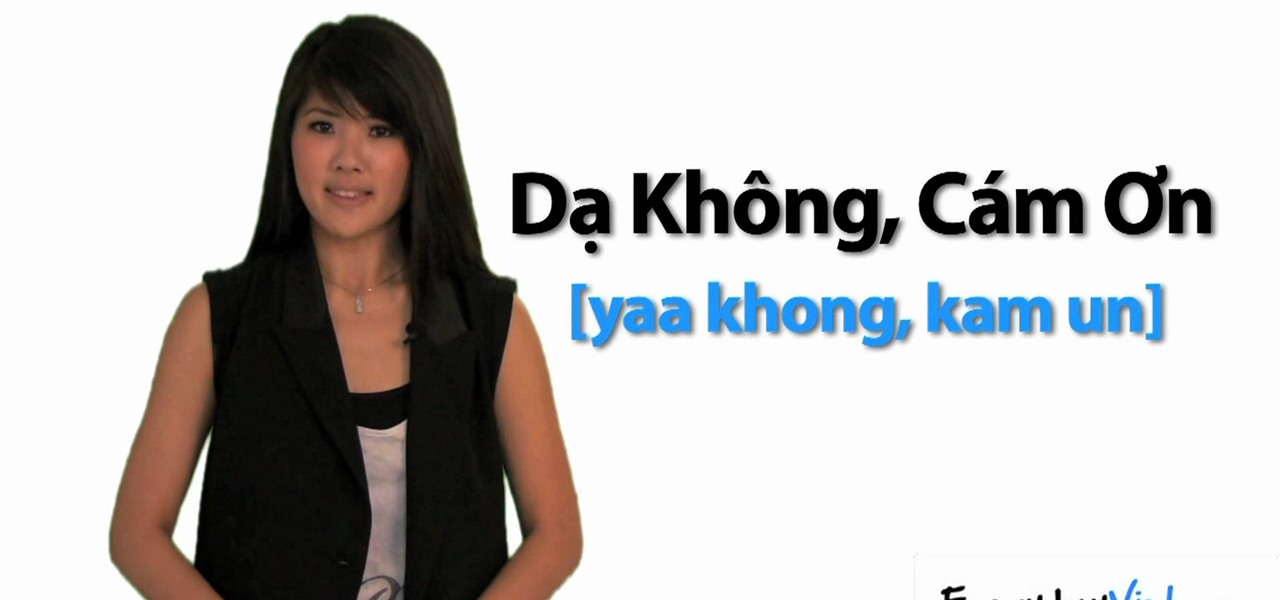 "How to Say ""yes, no, maybe, & no, thank you"" in Vietnamese ..."