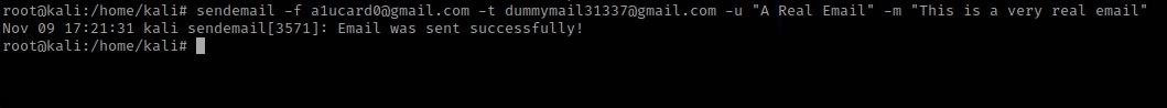 How to: Spoof E-Mail Using SendEmail and Postfix