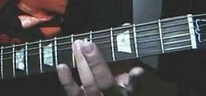 Play the Indiana Jones theme on guitar