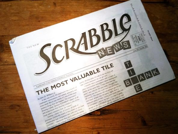 NSA Axes Printed SCRABBLE News in Favor of Online PDFs
