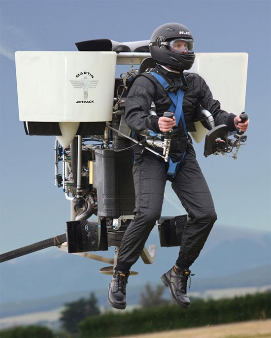 Up, Up & Away - Get Your Own Jet Pack for $75K