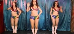 Learn some basic go go dance moves with the Pontani Sisters
