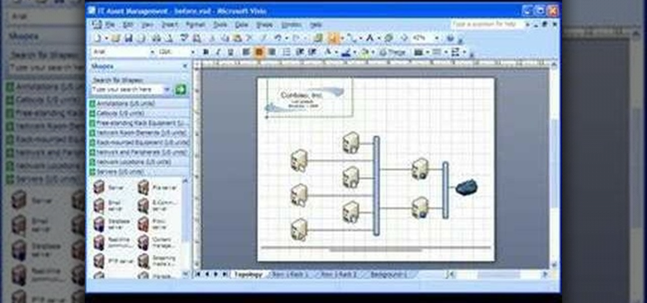 How to Create a background and watermark in Visio 2007 « Microsoft ...