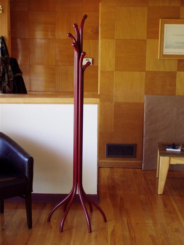 Six-Foot Coat Rack
