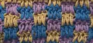 Do a crochet Boucan pattern stitch for Afghans