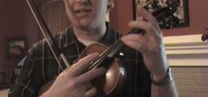 Learn sympathetic vibrations for the violin