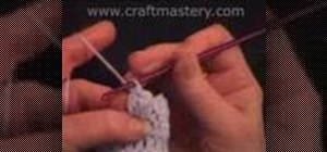 Crochet a popcorn stitch