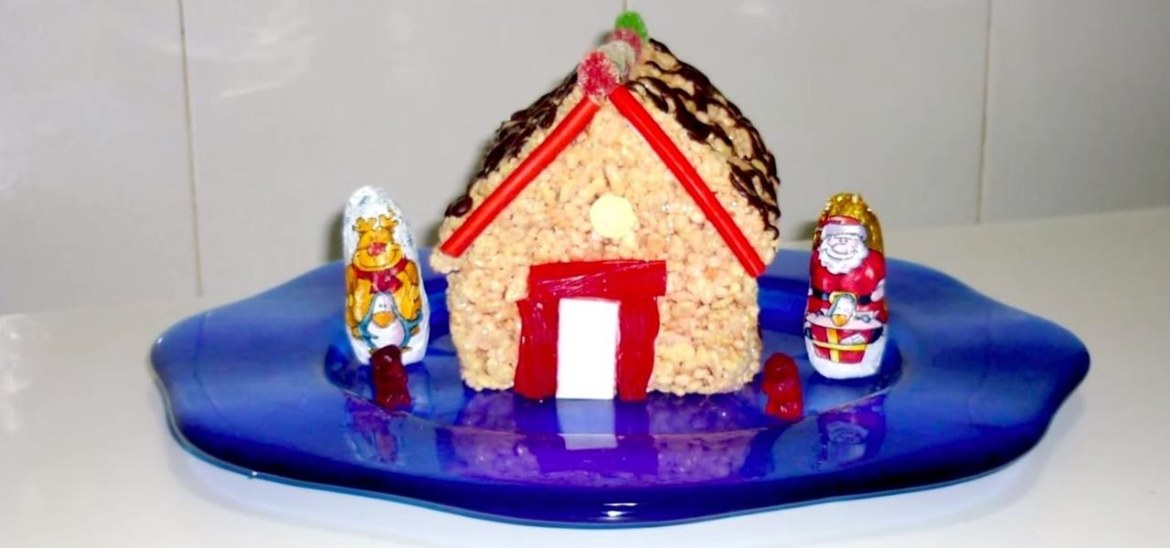 How to Make a Rice Krispies House