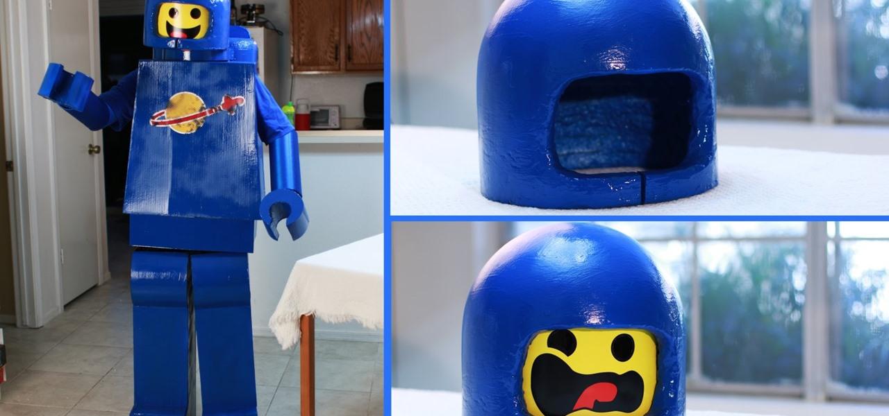 Make a Lego Man Costume (Lego Benny)
