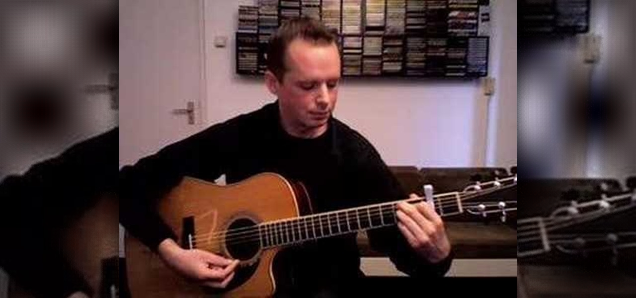 How To Arrange Chords On An Acoustic Solo Fingerstyle Guitar