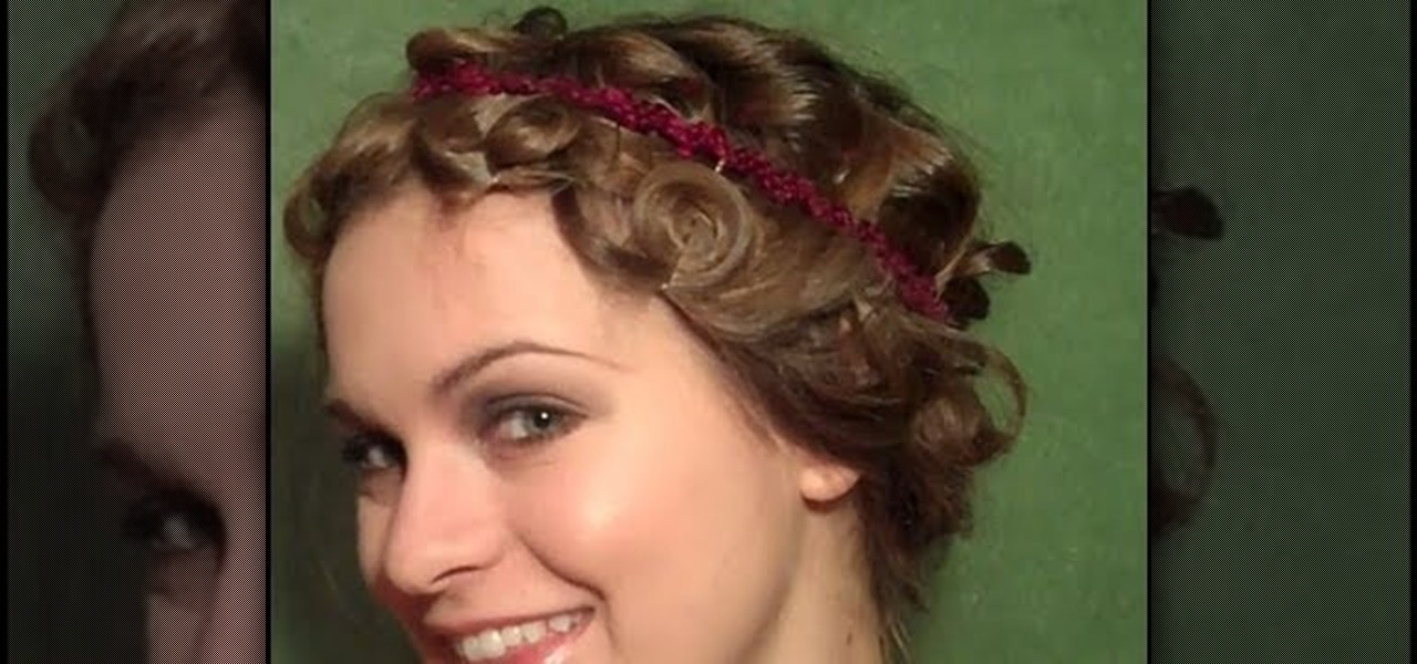 How To Create A Curly 20s Flapper Bob For Long Hair Hairstyling