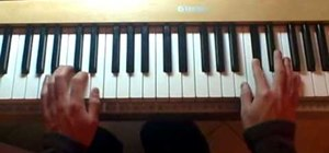 "Play ""Kids"" by MGMT on the piano"