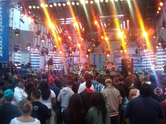 6/29 N*E*R*D @ Jimmy Kimmel Live Outdoor Stage in Hollywood