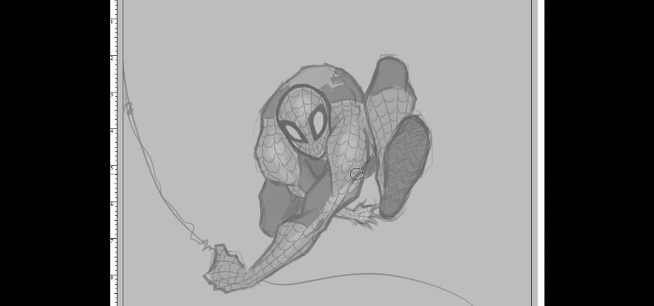 how to draw spiderman drawing illustration wonderhowto