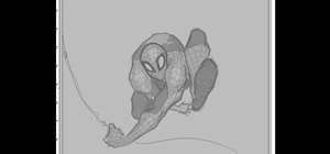 Draw SpiderMan
