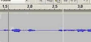 Make your first podcast with Audacity