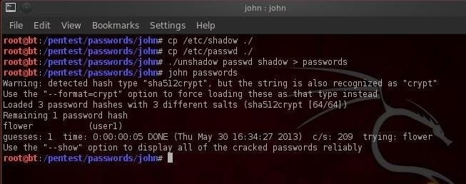 Hack Like a Pro: How to Crack User Passwords in a Linux System
