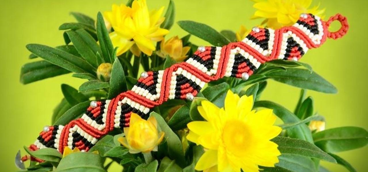 DIY ZigZag Wave Bracelet