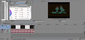 Use Sony Vegas Pro 10 to color correct videos