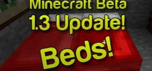 Craft a bed and sleep in Minecraft