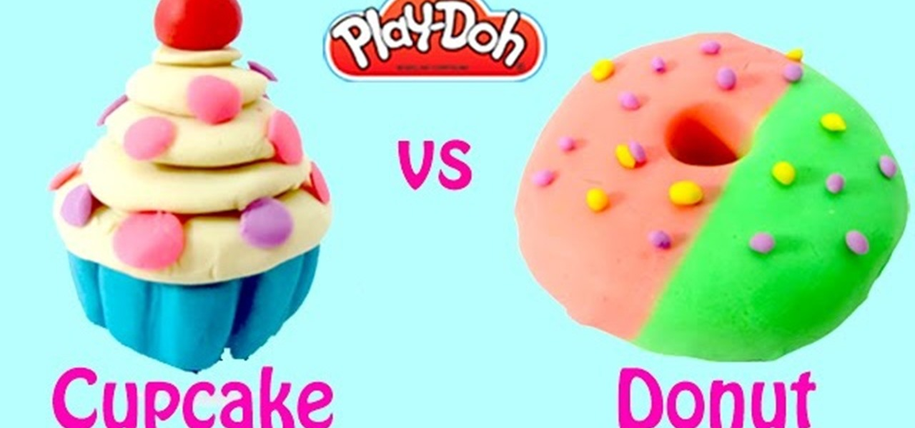 Make Play Doh Cupcakes and Playdough Donuts