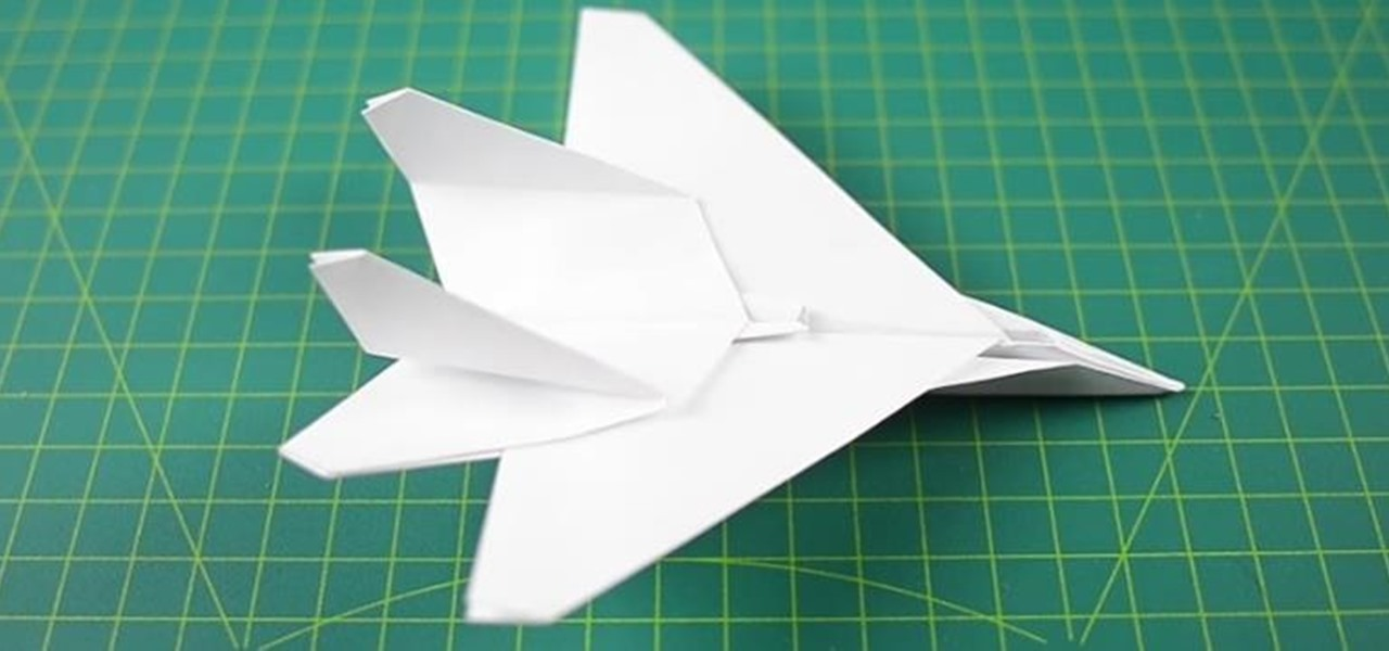 how to make a fighter jet paper airplane dgereport154