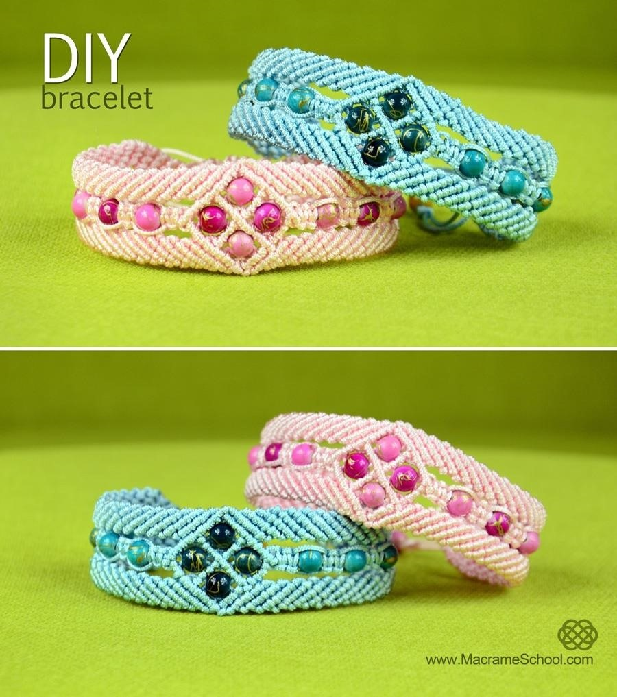 Diamond Window Bracelet Tutorial