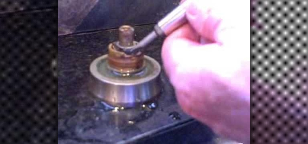 How To Fix A Faucet Leaking From Around The Handle « Construction U0026 Repair  :: WonderHowTo