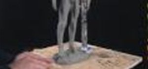 Sculpt In Clay  - Sculpting the Feet 4