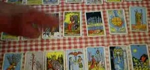 Read a 21 card tarot lay out with Peter John