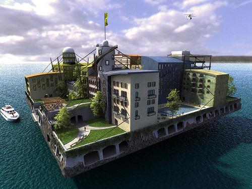 BioShock's Libertarian 'Rapture' of the Deep Evolves into Real-Life Seastead Cities
