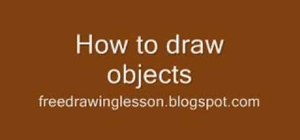 "Draw objects using the ""imaginary box"" technique"