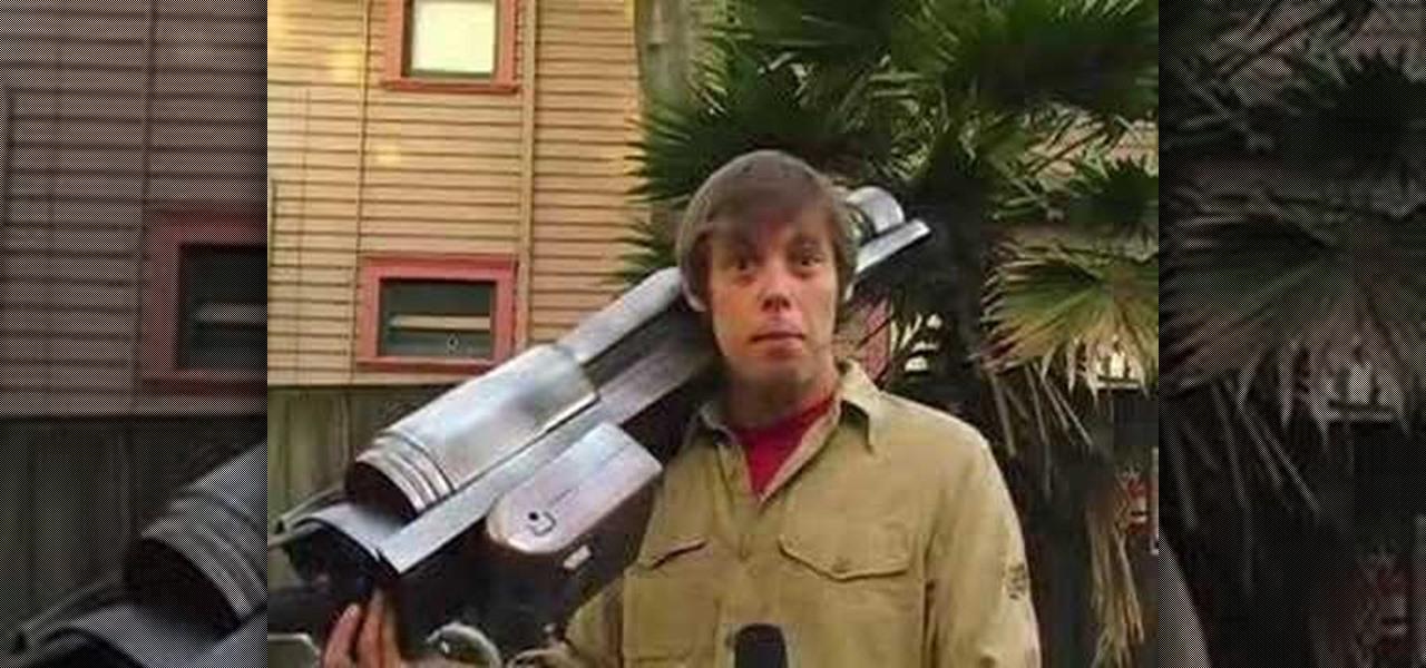 how to build a laser gun