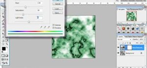 Make a marble texture in Photoshop