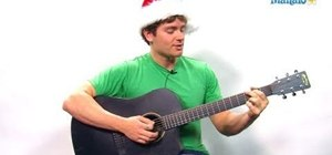 "Play ""Let It Snow! Let It Snow! Let It Snow!"" on guitar"
