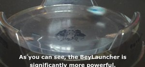 light launchers and Beylaunchers in Beyblade
