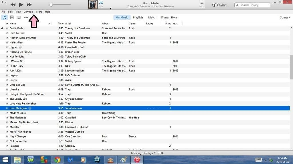 Keyboard Shortcuts for Itunes!!