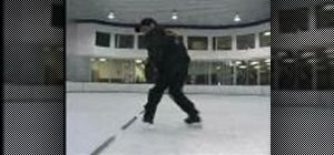 Practice skating backwards