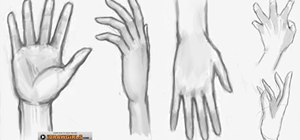 Draw a girl's hand