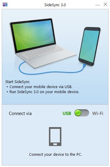 How to control your samsung galaxy device from a mac or for Mirror your phone to pc