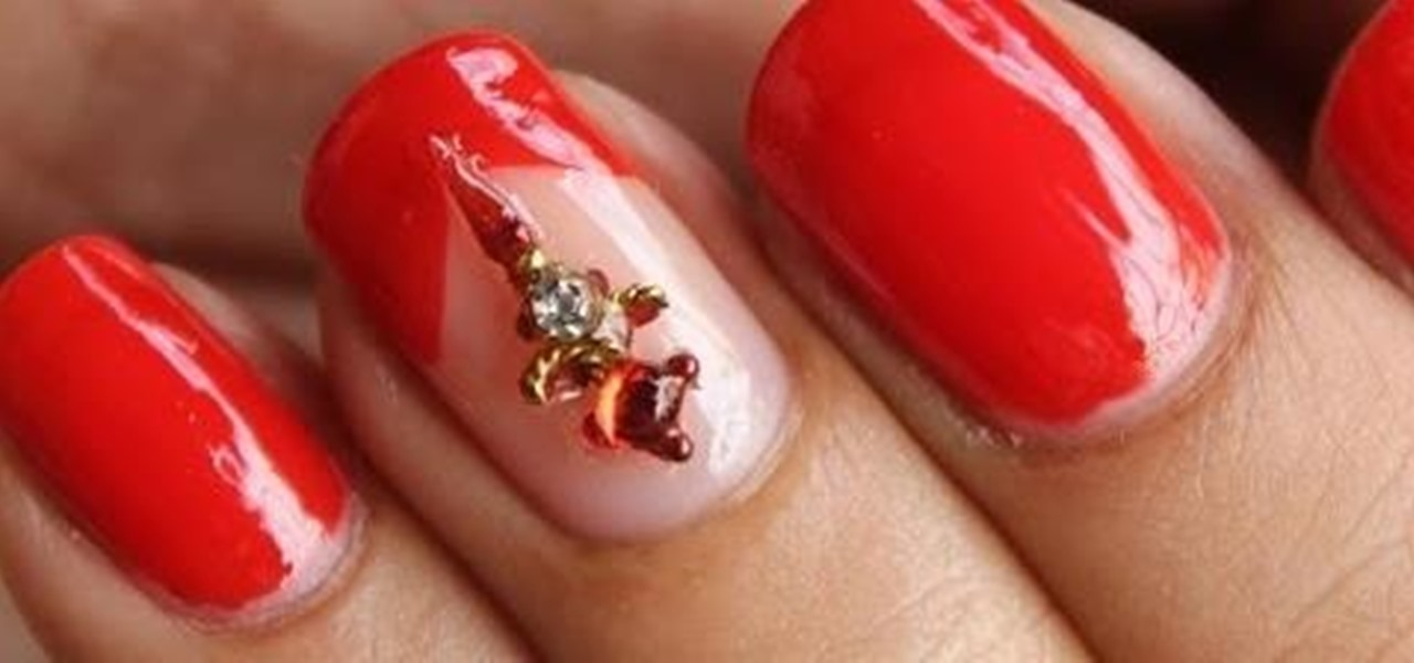 Do Indian Wedding Nails - No Tools!