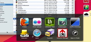 Make app stacks in Apple's Mac OS X
