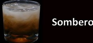 Make a Sombrero cocktail drink