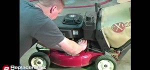 Change Lawn Mower Oil