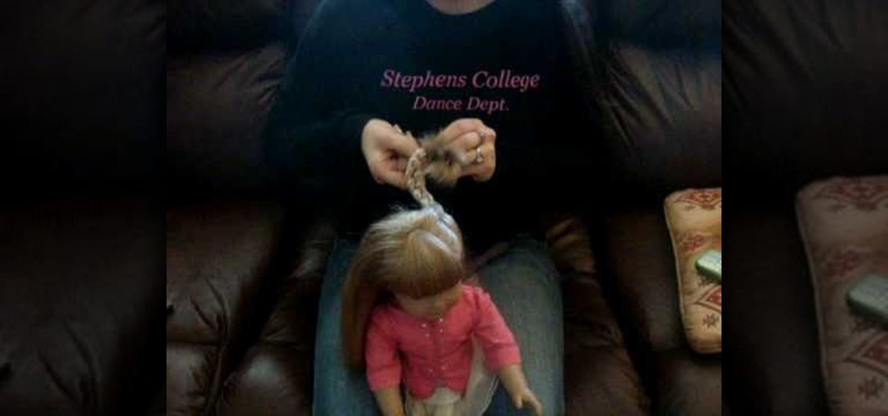 Marvelous How To Do A Cute Easy Hairstyle On Your American Girl Doll Dolls Short Hairstyles Gunalazisus