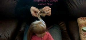 Do a cute easy hairstyle on your American Girl Doll