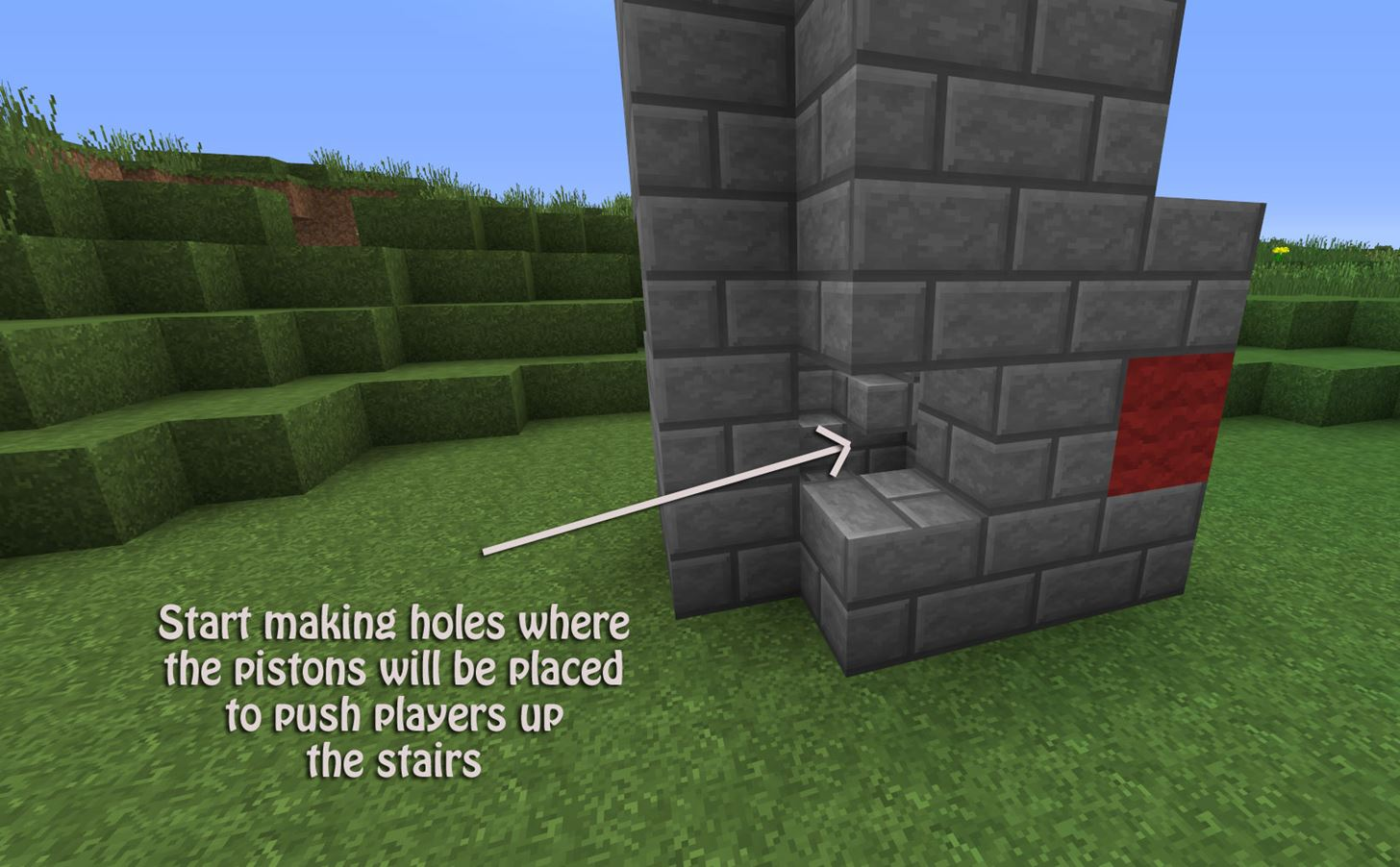 the fastest way to the top how to build a redstone concrete walkways around building perimeter can protect