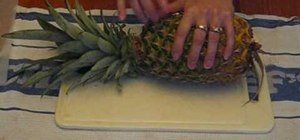 Grow pineapple by planting the top