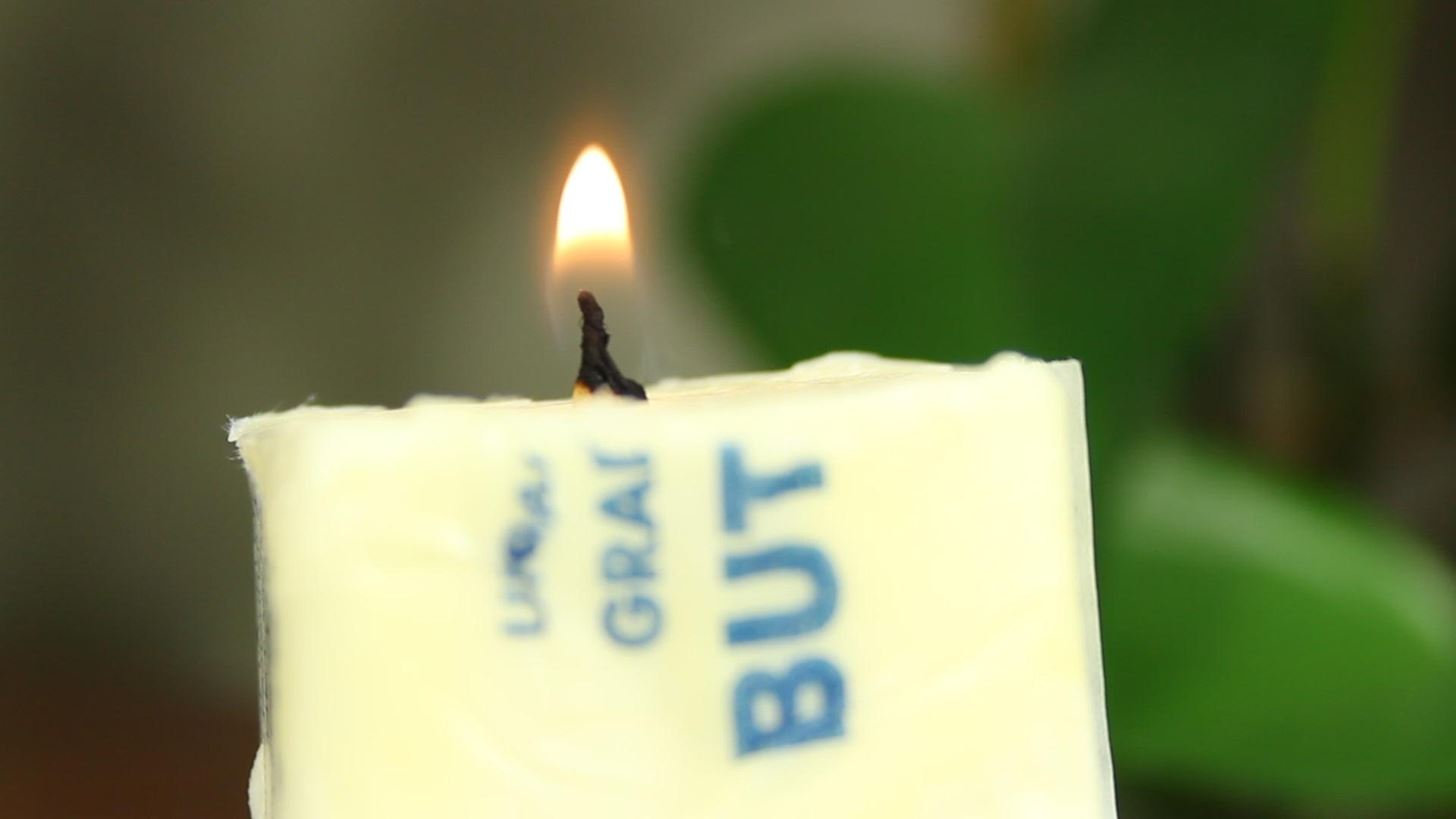 How to Make a MacGyver-Style, Emergency Butter Candle That Burns for Hours