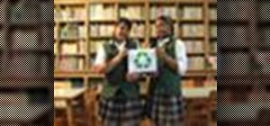 Start a green environmental initiative at school that looks good for college